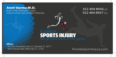 Florida Sports Injury